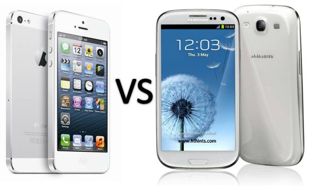 The fight between Samsung and iPhone