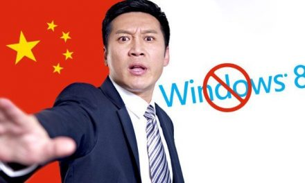 China has Ban Windows 8