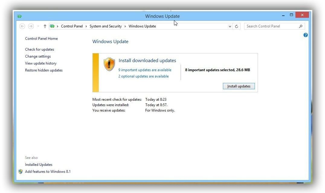 Another Security Update For Windows
