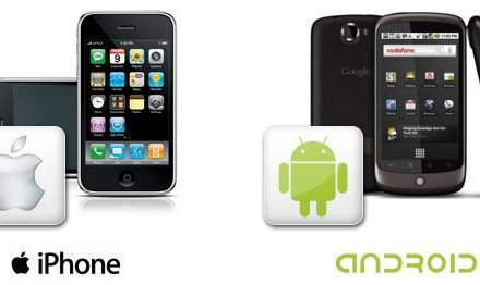 Mobile War Between iPhone And Android
