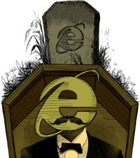 Internet Explorer, Microsoft should bury it