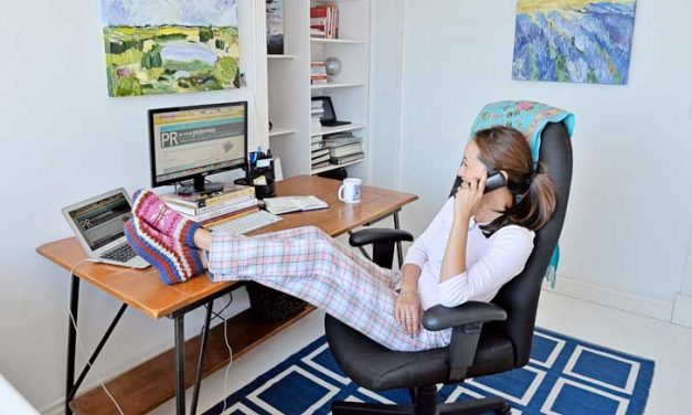 Working from home, could you do that?