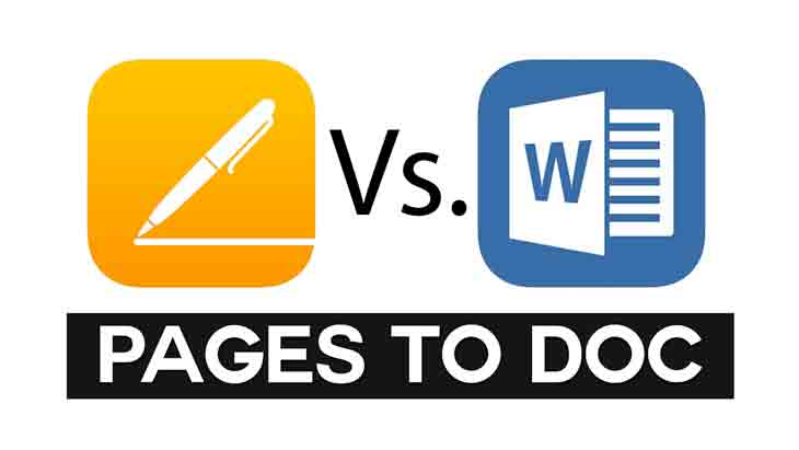 Apple Pages against Microsoft Word…