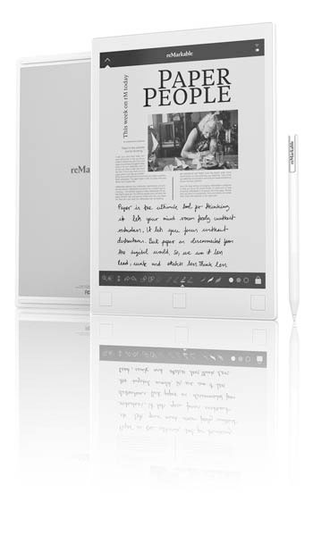 reMarkable paper tablet will make our life so much easier. - WebAlvarez IT & Tech - Hardware - reMarkable paper tablet