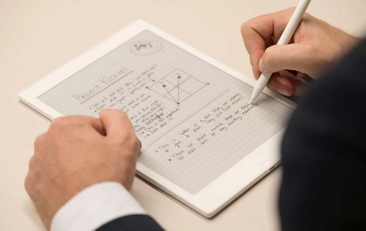 reMarkable paper tablet will make our life so much easier.