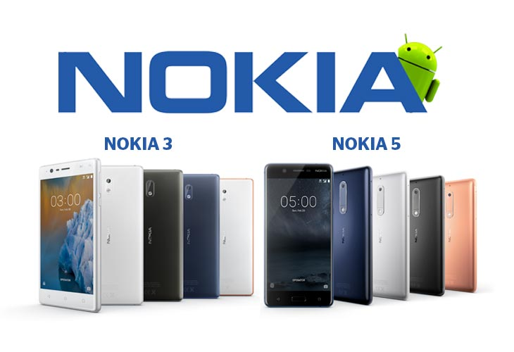 Nokia presenting new Android smartphones