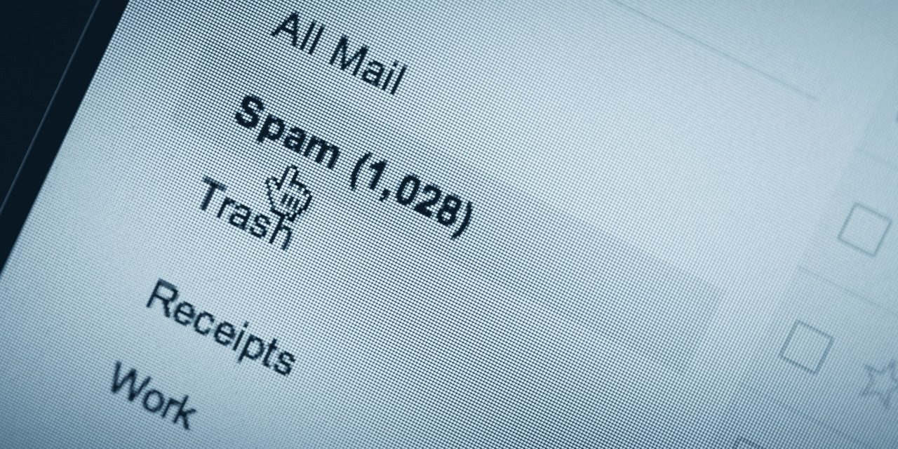 Increase of spam mail 2016