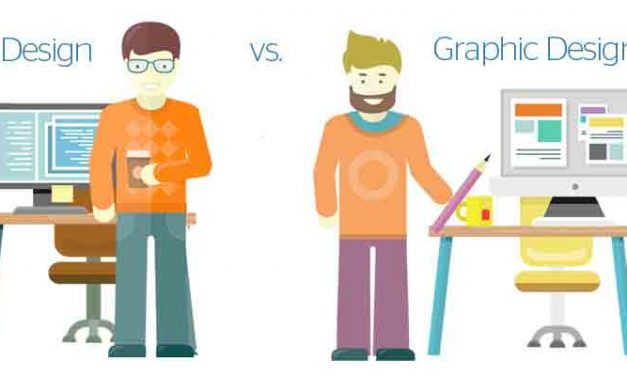 Differences between Graphic Design vs. Web Design