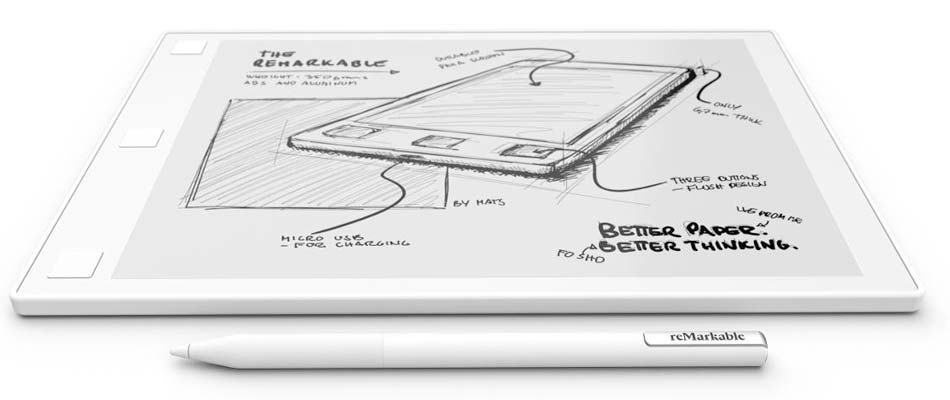 The writing tablet reMarkable is the best in the market